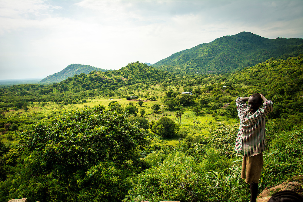 The view from Ohilang. Much like Nagishot, Ohilang is removed from the recent civil wars of South Sudan.