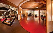 Interiors at Via Marketing, Portland, Maine