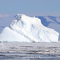 An iceberg off of Marble Point, Antarctica.