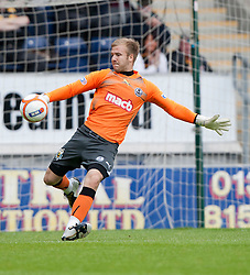 Partick Thistle's keeper Scott Fox..Falkirk 2 v 1 Partick Thistle, 13th August 2011..© pic : Michael Schofield.