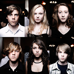 "Kids from the movie feature ""White Ribbons"" from director Michael Haneke, shot at Le Majestic hotel during the 62nd Cannes Film Festival. France. 21 May 2009. Photo: Antoine Doyen"