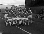 1961 - Soccer: League of Ireland v Irish League at Dalymount Park