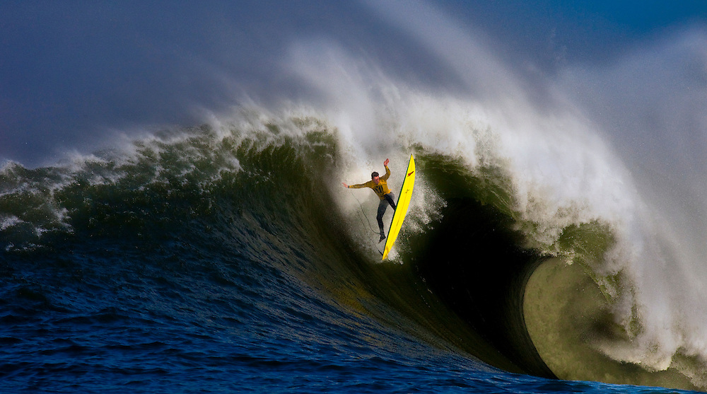 Mavericks Big Wave Competition in Half Moon Bay, California 2010.