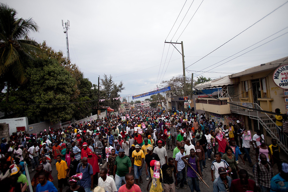 Protestors are taking to the streets for the second day in a row in response to Haiti's election results which were announced on Tuesday December 7th among allegations of fraud.
