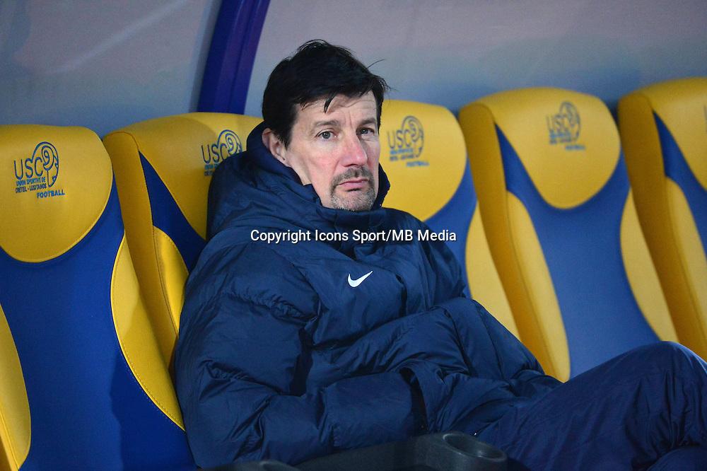 Thierry FROGER - 23.01.2015 - Creteil / Laval - 21eme journee de Ligue 2<br /> Photo : Dave Winter / Icon Sport