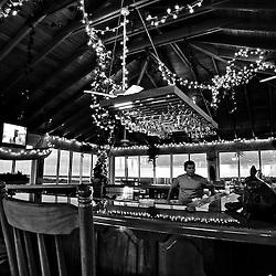 Restaurant and bar at Belizean Shores Resort, San Pedro, Ambergris Caye, Belize