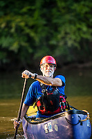 Steve Sheperd, expert white water rafter and canoe paddler.