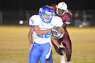 Water Valley's Jarard Smith (22) runs vs. J.Z. George on Friday, September 23, 2011.