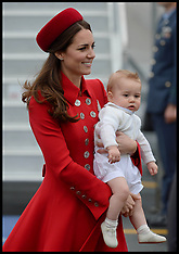 File photo - Prince George First Birthday On Tuesday July 22nd 2014