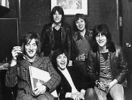 The FACES 1973 Rod Stewart, Ian McLagan, Kenney Jones. Ronnie Lane, Ron Wood.