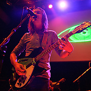 """WASHINGTON, DC - February 14th  2013 - Kevin Parker of Tame Impala performs at the 9:30 Club in Washington, D.C.  The band's sophomore album, """"Lonerism,"""" was released in October of 2012 and won numerous album of the year awards across the globe, including NME, Rolling Stone and Australia's Triple J radio. (Photo by Kyle Gustafson/For The Washington Post)"""