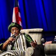 Liberian President Ellen Johnson Sirleaf visited Gonzaga and was featured as part of the Presidential Speaker Series on October 4, 2015. (Photo by Ryan Sullivan)