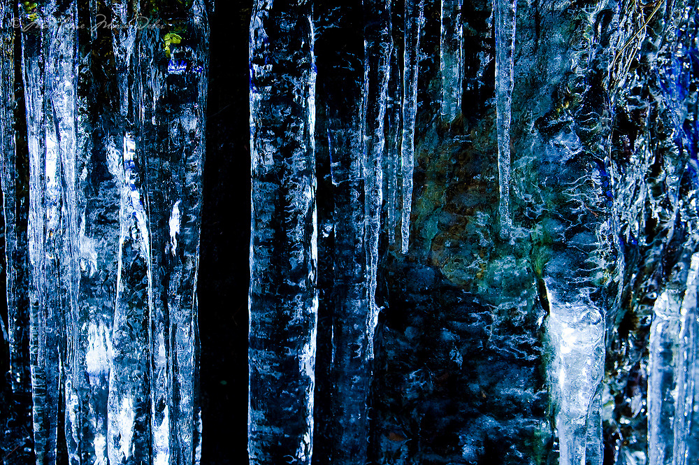 Icicle Winter County Kerry, Ireland