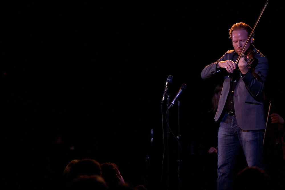 Violinist Daniel Hope performing at Le Poisson Rouge on October 24, 2011.