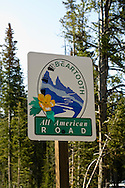 Beartooth Scenic Byway, Wyoming, Absaroka Range, Shoshone National Forest, Cooke City to Beartooth Pass and Red Lodge