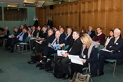 Portcullis House, Westminster, London, January 14th 2014. Members of the Residential Landlords Association attend the launch of their Policy Manifesto and hear views from MPs. PICTURED: The audience