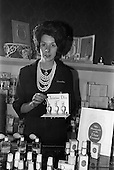 1963 - Miss Christine Baldwin, Christian Dior Beauty Consultant at Brown Thomas, Dublin