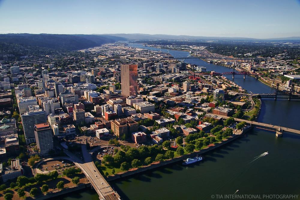 Downtown Portland & Willamette River