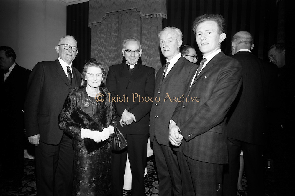 16/2/1966<br /> 2/16/1966<br /> 16 February 1966<br /> <br /> Dr. Frank Milliard and Mrs. Hilliard, Rev., John Moynihan, Mr. P Finecane and Mr. Donal O'Meara