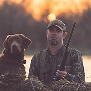 honey brake duck hunting and duck dogs, campfire and good times