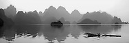 Vietnam Images-panoramic landscape- reflection-Hoa Binh