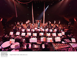 The Vector Wellington Orchestra perform a programme entitled Circus Proms, with performers from Wellington Circus Trust, conducted by Marc Taddei, at the Michael Fowler Centre.