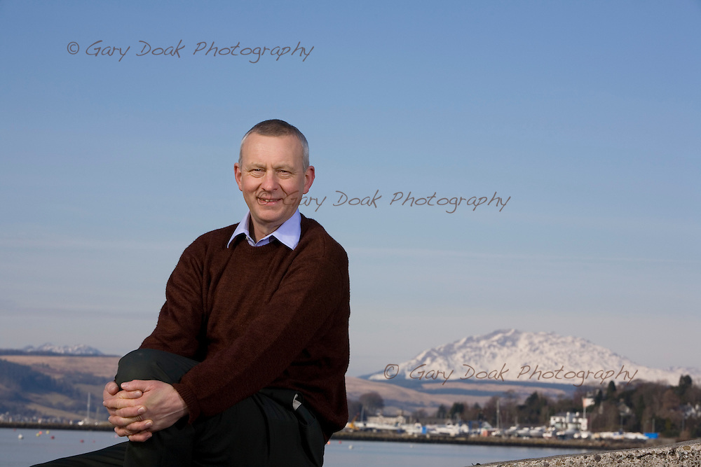 The Right Rev. John Christie, Moderator of the General Assembly of the Church of Scotland.