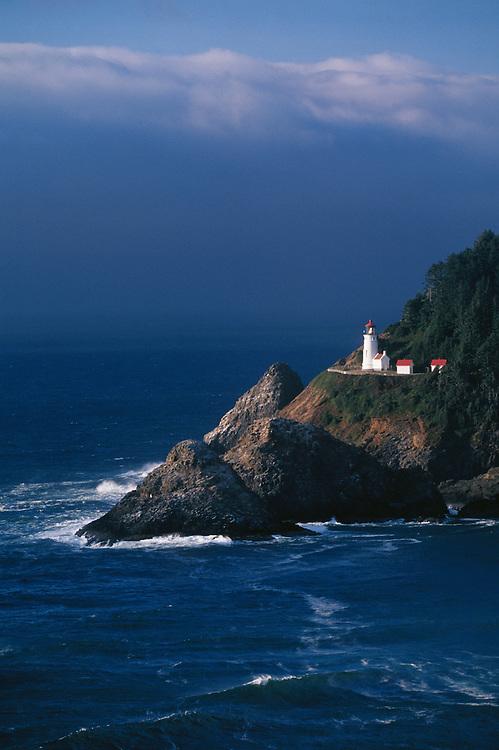 Heceta Head Lighthouse, Oregon coast.
