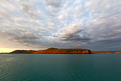 Dawn breaks over Yampi Sound in the Buccaneer Archipelago.