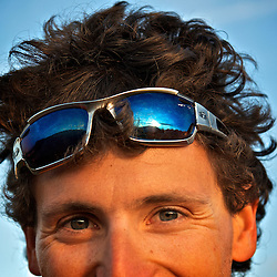 """Julien Millot, from Seb Montaz's feature documentary """"Flight of the frenchies"""". The look behind the adventurer...2012 © Pedro Pimentel"""