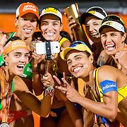 WK Beachvolleybal finale Dames