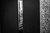 Greece's Finance Minister Yanis Varoufakis arrives prior to the European economic and financial affairs (ECOFIN) meeting at the European Council in Brussels, Belgium on 17.02.2015 by Wiktor Dabkowski