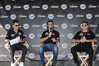 Will Power, Indy Fan Zone, Las Vegas Indy 300, Las Vegas Motor Speedway, Las Vegas, NV USA 10/16/2011