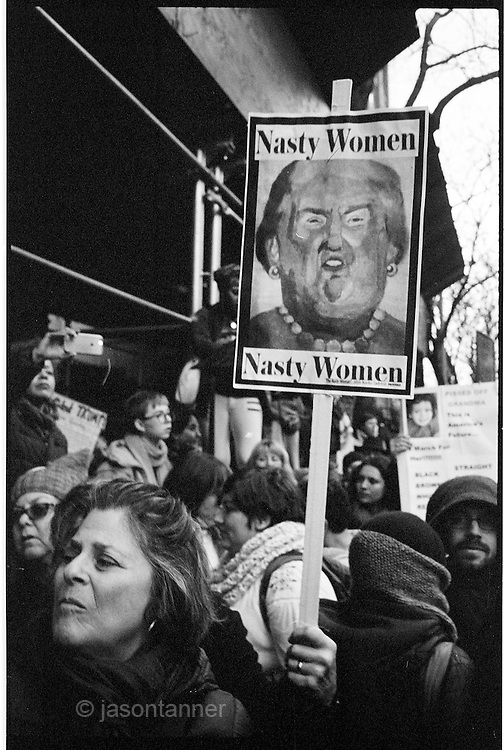 Women's March New York City 21st January 2017. On January 21st, New York City proudly joined the international community to march in support of equality and promote civil rights for every human.