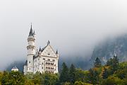 Neuschwanstein Castle, the basis of Disney's Cinderella castle.