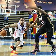 NBA D-LEAGUE BASKETBALL 2014 - FEB 11 Erie BayHawks (Knicks) defeats Delaware 87ers (76ers) 116-111