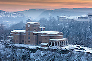 Veliko Tarnovo at wintertime