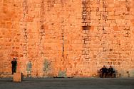 France, Languedoc Roussillon, Gard, Aigues-Mortes, les remparts sud