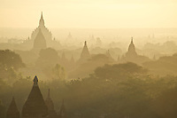 Located on the eastern bank of the Ayerrawaddy (Irrawaddy) River, Bagan is one of the richest archaeological sites in Myanmar.  The capital of first Myanmar Empire, Bagan contains over 2000 well-preserved pagodas and temples from ancient times.