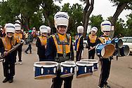 Custer County High School Band, Miles City Bucking Horse Sale Parade, Montana