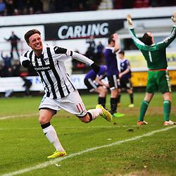 Dunfermline v Ayr United, Scottish League One 13/2/2016.
