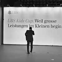Banker at UBS Annual General meeting