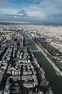 13 Paris city center aerial view