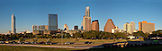 Austin Texas Skyline Panorama
