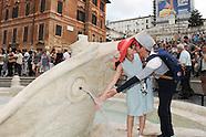 20140922- Inaug.restauro fontana Barcaccia Roma
