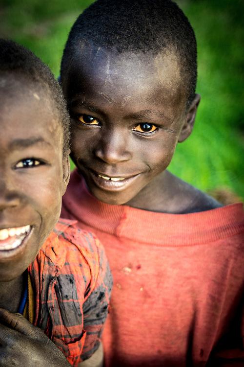 Children in Nagishot.