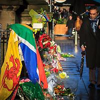 Glasgow, Scotland pays tribute to the life of Nelson Mandela