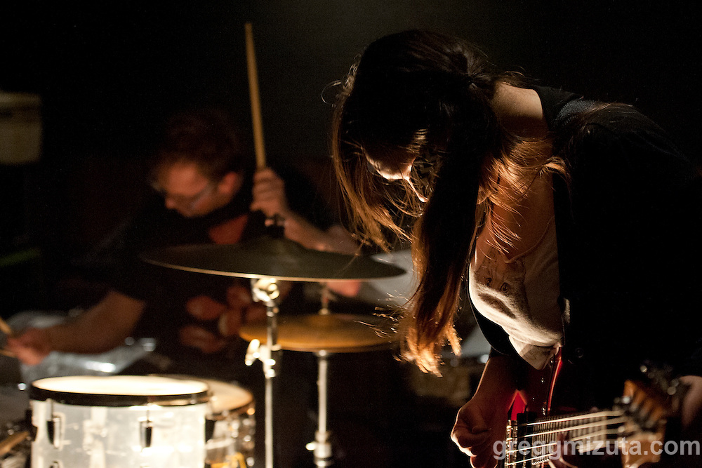Toy Zoo's bassist Chessa Lilly at the Boise Hive. Boise Weekly selected Toy Zoo's debut album &quot;Toy Zoo&quot; as one of the top 5 local releases of 2015.<br />