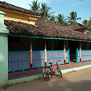 A home in Thittacheri. South India.