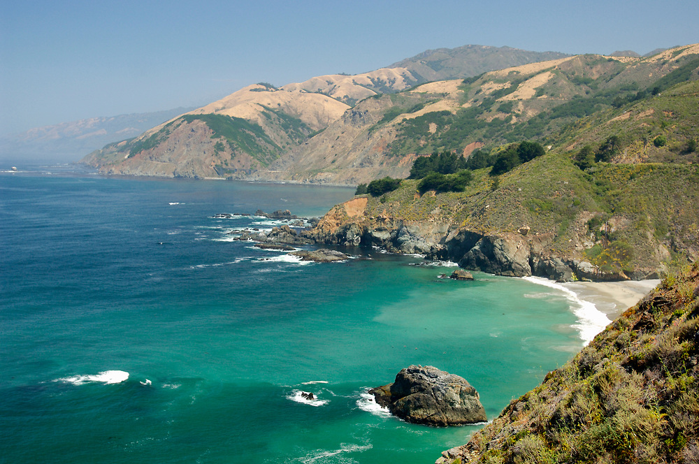 Big Sur Coast, Highway 1, Cabrillo Highway, south of Pfeiffer Big Sur, California, United States of America
